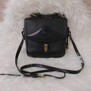 🙆🏻✨SOLD✨💁 Vtg Dooney Bourke Square Carrier Bag